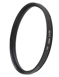 EMOBLITZ 52 millimetri uv ultravioletti lente filtro di protezione nero