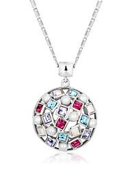 Fashion  Multicolor CZ Bohemia Hollow Necklaces & Pendants For Women