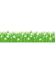 Wall Stickers Wall Decals Style Little Lily Grass PVC Wall Stickers