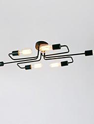 economico -BriLight 6-Light Montaggio del flusso Luce ambientale - Stile Mini, 110-120V / 220-240V Lampadine non incluse / 20-30㎡ / E26 / E27