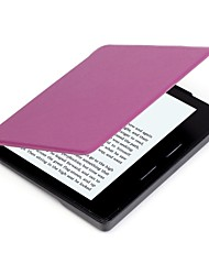 cheap -Case For Amazon Full Body Cases Tablet Cases Solid Color Hard PU Leather for