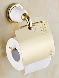levne -Držák na toaletní papír / Ti-PVD / Na ze´d /14*9*13cm(5.5*3.5*5.1inch) /Mosaz /Moderní /14cm 9cm 0.5