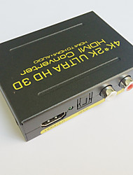 Недорогие -4k HD конвертер ультра HDMI адаптер HDMI к HDMI аудио конвертер дуги MHL цифровой SPDIF L / R выход 1080p 2.1ch 5.1ch