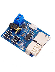 cheap -MP3 Lossless Decoding Board TF Card U Disk Module with Power Amplifier