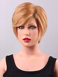 Donna Parrucche di capelli umani con retina Cappelli veri Lace frontale Densità Lisci Parrucca # 30 18/613 27/613 10/613 27/30 Capelli