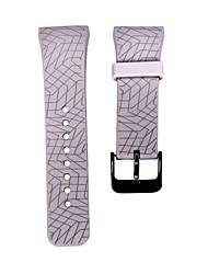 preiswerte -Schwarz / Grün / Blau / Braun / Rosa / Lila / Rose / Orange Silikon durable Sport Band Für Samsung Galaxy Uhr 20mm