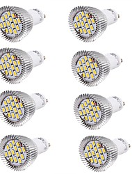 cheap -6W GU10 LED Spotlight MR16 15 SMD 5630 450-500 lm Warm White Cold White 3000/6000 K Decorative AC 85-265 AC 220-240 AC 100-240 V