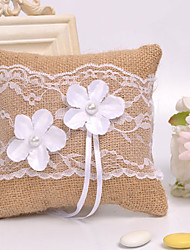 Lace Flower Decoration Ring Pillow