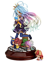 cheap -Anime Action Figures Inspired by No Game No Life Shiro PVC 20 CM Model Toys Doll Toy