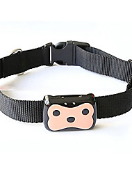 Dog GPS Collar / GPS tracker Waterproof Batteries Included GPS Animal PC (Polycarbonate) Black
