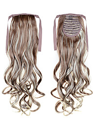 cheap -22 inch Synthetics synthetic fibre Synthetic Hair Extension Classic Wavy Cross Type Best Selling Long Ponytail Hair Extentions 22inch