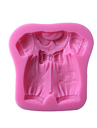 Baby Clothes Silicone Cake Mold Hight Quality Baking Tool 1pc