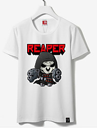 Inspirado por Otros Otros animado Disfraces Cosplay Tops Bottoms Cosplay Estampado T-Shirt