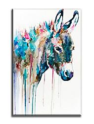 Недорогие -ручная роспись современного животного стиля живопись маслом домашнее украшение