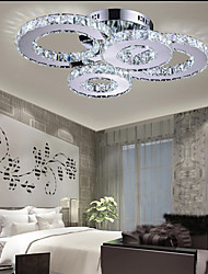 cheap -LED Crystal Lamp Atmosphere Living Room Lamp Creative Ceiling Lamp Bedroom Lamp Deluxe Round Hall Lamp Room Lamp 8806