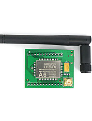 placa developemnt GPRS a6 Serial GPRS módulo GSM central para arduino