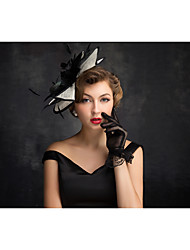 Flax Feather Net Fascinators Headpiece