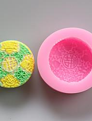 chinois moules chance de chocolat en silicone, moules à gâteaux, moules à savon, décoration outils bakeware