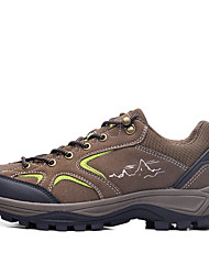 cheap -Suoyue Men's Hiking Boots / Hiking Shoes Spring / Summer / Autumn / Winter Damping / Wearproof Shoes Coffee / Brown