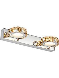 cheap -Crystal / LED Bathroom Lighting,Modern/Contemporary LED Integrated Metal
