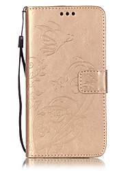 Per Custodia Motorola A portafoglio / Porta-carte di credito / Con supporto / Con chiusura magnetica / Decorazioni in rilievo Custodia