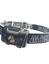 cheap Head lamps-Headlamps Safety Lights LED - Cycling Waterproof Easy Carrying Color-Changing AAA 180 Lumens Battery Camping/Hiking/Caving Everyday Use