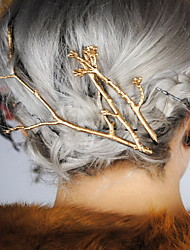 Недорогие -Женский Сплав металлов Заставка-Особые случаи На каждый день на открытом воздухе Заколка для волос Заколки для волос Шпилька 1 шт.