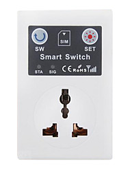 cheap -GSM Mobile Phone SMS Remote Control Socket Outlet Smart Socket