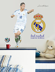 cheap -Football Wall Stickers Fashion Environmental Living Room Wall Decals