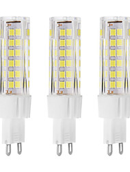 G9 LED Bi-pin Lights T 75 Dip LED 650 lm Warm White Cold White K Decorative AC 220-240 V
