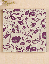 100% virgin pulp 20pcs Purple Wedding Napkins Wedding Reception
