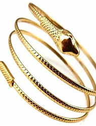 Snake Shape Animal Bangle Bracelet for Women Christmas Gifts