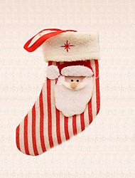 1pc Noël sapin décoration bande père noël pendentif chaussette festival maison articles de fête