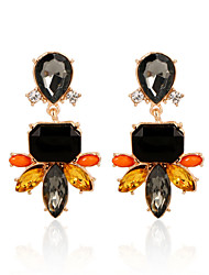 cheap -Women's Crystal Drop Earrings - Crystal, Gold Plated Vintage, Fashion Rainbow For Wedding Party Daily