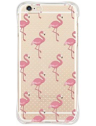 cheap -Ostrich TPU Soft Antishock/Dustproof/Waterproof/Clear Back Cover For iphone 6s Plus/6 Plus/6s/6/SE/5S/5