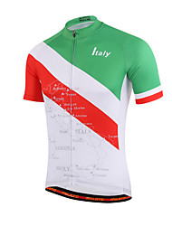 cheap -Miloto Cycling Jersey Men's Women's Kid's Unisex Short Sleeves Bike Shirt Sweatshirt Jersey Top Bike Wear Quick Dry Front Zipper