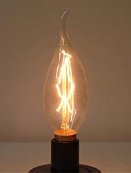 C35L 40w E14 Edison alogena lampadina retrò lampada vintage retro industriale (AC220-240V)