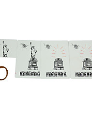 cheap -The Statue of Liberty Disappear Magic Props - White + Black