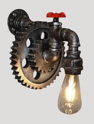 AC 100-240 40W E26/E27 Rústico Pintura Característica for LED,Luz Ambiente Lâmpadas de Parede Luz de parede