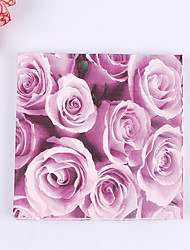 100% virgin pulp 20pcs Rose Wedding Napkins Wedding Reception
