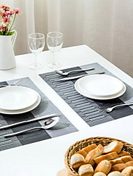 Waterproof Non-slip Three Stripe Western-style Food Pad Table Mat