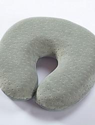 Cuscino da viaggio Cuscini poggiatesta per Cuscini poggiatesta Tessuto-Bianco Grigio Viola Verde Blu