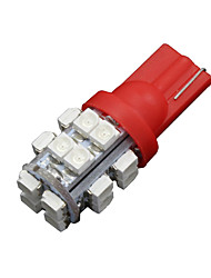 4 x T10 W5W 2825 192 194 168 501 Car 20 SMD Red LED Side Wedge Light Bulb 12V