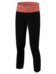 cheap -Women's Running Pants Quick Dry Compression Comfortable 3/4 Tights Leggings Bottoms Yoga Exercise & Fitness Basketball Running Tactel