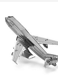 Недорогие -Пазлы 3D пазлы Строительные блоки DIY игрушки Вертолет 1 Металл Розовый Игра Игрушка