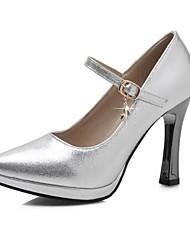 Women's Shoes Microfibre Spring / Summer / Fall Heels Heels Wedding / Party & Evening / Casual Stiletto Heel