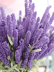 cheap -1PC Household Artificial Flowers Sitting Room Adornment  Flowers  Polyester   Lavender  Artificial Flowers