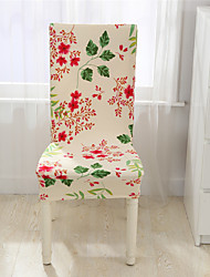 cheap -Flowers print Chair Cover Home Dining elastic Chair Covers multifunctional Spandex elastic cloth Universal Stretch