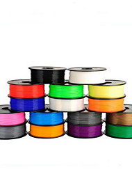 cheap -3D Printing Supplies One Kilogram PLA 1.75MM 3D Supplies Printer Supplies(Random Colors)