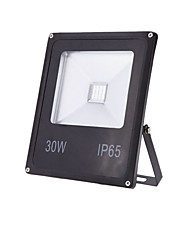 cheap -1pc 30 W LED Floodlight Waterproof / Decorative Warm White / Cold White 85-265 V Outdoor Lighting / Courtyard / Garden